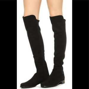 New Blondo Waterproof OTK Boots Black Suede 6.5